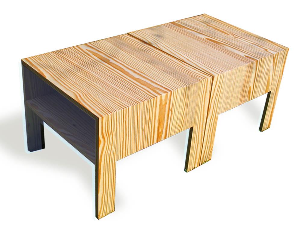 De salontafels kunnen op verschillende wijze naast elkaar worden gepositioneerd
